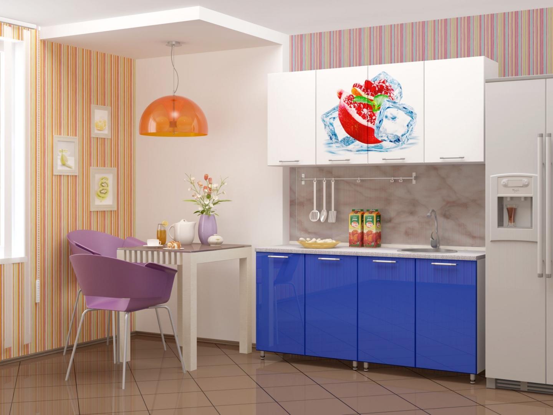 Кухни пластик Инфор мебель