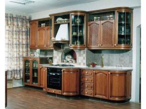 Кухни массив 001