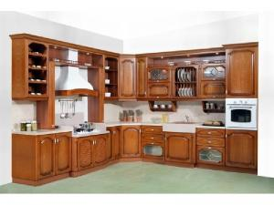 Кухни массив 007