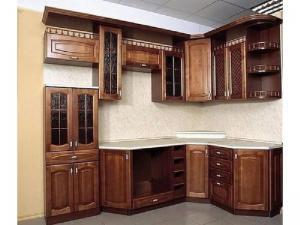 Кухни массив 015