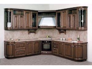 Кухни массив 018