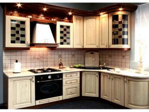 Кухни массив 025