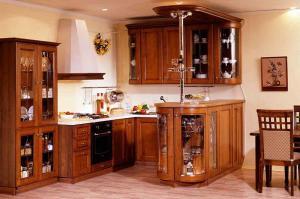 Кухни массив 028