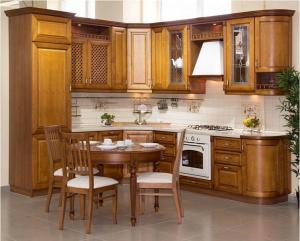 Кухни массив 029