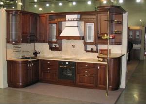 Кухни массив 041