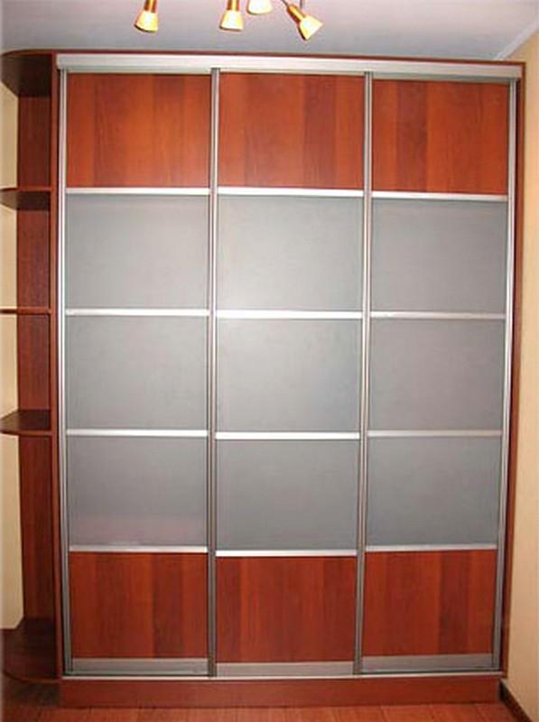 Шкафы-купе на заказ (встроенные в нишу и нет) - москва.